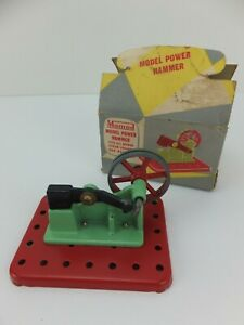 Vintage MAMOD Steam Engine Accessory MODEL POWER HAMMER Toy made in England