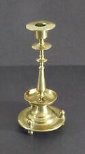 Antique Russian Brass Candlestick c. 1900.