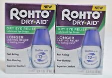 ROHTO DRY AID DRY EYE RELIEF LUBRICANT DROPS (0.34 oz per Bottle) EXP:5/2019