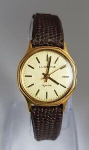 Vintage Lucerne Ladies Mechanical Wrist Watch for Repairs