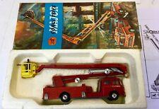 CORGI 1127 SIMON SNORKEL FIRE ENGINE IN ORIGINAL GOOD BOX.COMPLETE AND NEAR MINT
