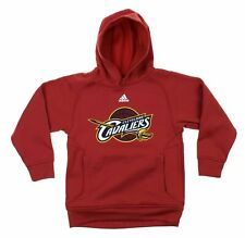 Adidas NBA Youth Cleveland Cavaliers Basketball Team Logo Pullover Hoodie