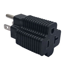Household electrical adapter NEMA 5-15P male to NEMA 5-20R female'adapter MF