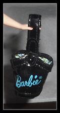 PURSE  MATTEL BARBIE DOLL COOL COLLECTING BLACK BARBIE LOGO HANDBAG ACCESSORY