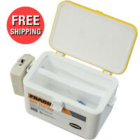 Live Bait Cooler Aerated Storage Box 8 Qt Insulated Bucket Lid Latch Fishing