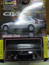 Revell 1:64 Black Honda Civic Issue #93