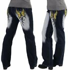 Crazy AGE XXL Vaqueros 42 44 46 48 50 Pantalón de mujer pantalones Bordado #038b