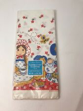 American Greetings Paper Tablecover Vintage Holly Hobby 54x96 NIP