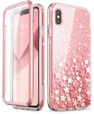 "For iPhone Xs Max 6.5"" i-Blason Cosmo Sparkle Bumper Case Cover+Screen Protector"