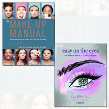 Easy on the Eyes and The Make-Up Manual 2 Books Collection Set Pack NEW BRAND UK