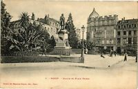 CPA Nancy-Statue et Place Thiers (187378)