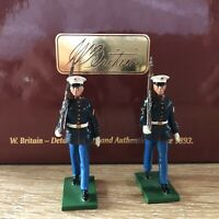 Britains: Boxed Set 48001 USMC Enlisted Men Marching, 1955. Brand New