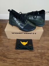 Under Armour Project Rock Shoes Size 8 Camo Green Gum Black Weight Lifting