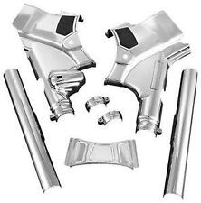 Harley-Davidson FLHX Street Glide 2009-2013Deluxe Neck Covers Chrome by Kuryakyn