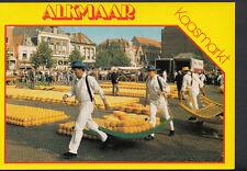 Netherlands Postcard - Alkmaar Kaasmarkt    B2750