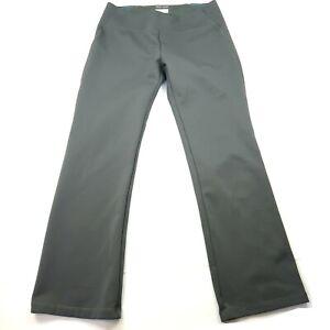 Columbia Women's Size XL Omni-Wick Fleece Hiking Pants Warm Pull On Grey