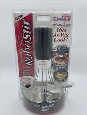 New listing New RoboStir Automatic Pot Stirrer 3 Speed Cordless Non-Stick As Seen on Tv