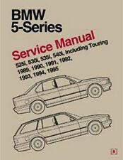 1989-1995 BMW 525i 530i 535i 540i E34 Bentley Repair Service Shop Manual B595