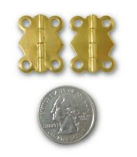 Decorative Brass Small Box Hinges ~ Trinket Box Craft Projects ~ by Pld