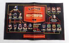 Lucha Underground Season 3 Wrestling Exclusive Poster 11x17 WWE Rey Mysterio WWF