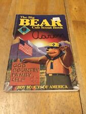 The Big Bear Cub Scout Book 1984 Paperback Book