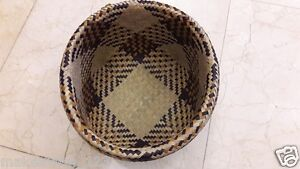 Handwoven Hamper Basket Box Container Sea Grass Natural Thai Wicker Home Garden
