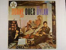 DUANE EDDY DOES BOB DYLAN - RARE 1965 MONO OZ PRESS LP