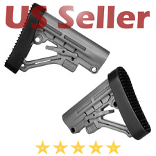 VITO Tactical Polymer Omega LE Style 6 Position Mil-Spec Rifle Butt Stock Grey
