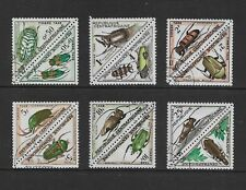 CENTRAL AFRICAN REPUBLIC 1962 Postage Due, Beetles, set of 8, CTO