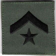 "2 "" x Noir Vert Sheriff S Adjoint II Rang hook & loop tape Fermeture Compatible"