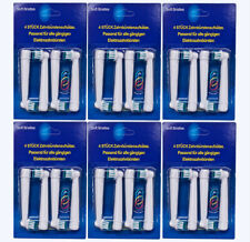 Aufsteckbürsten für Oral B 24 stk.(6x4) Precision Clean OVP Beste Preis!!!!!