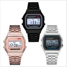 BEST Men Wrist Watch LED Retro Digital Unisex Classic New MULTICOLORE