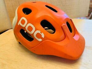 POC Trabec Race Mountain Bike Helmet ORANGE Medium - Large 55-58 cm