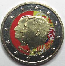 2 Euro Colorisée - ESPAGNE - 2014 -