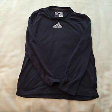 Mens M Adidas long sleeve ultimate tshirt black