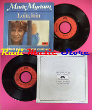 LP 45 7'' MARIE MYRIAM Loin loin Mon pere, mon enfant 1978 france no cd mc dvd