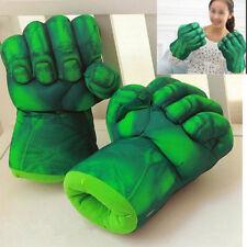 Set of 2 Incredible Hulk Smash Hands Plush Punching Boxing fists Gloves Cosplay