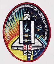 Ricamate patch spaziale NASA sts-85 dello Space Shuttle Discovery... a3127