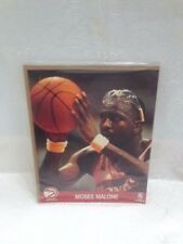 NBA HOOPS ACTION PHOTOS - MOSES MALONE -  8X10 GLOSSY
