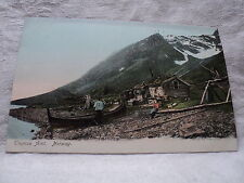 TROMSO AMT. NORWAY Home wth Boat early 1900's Postcard