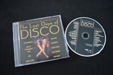 THE LAST DAYS OF DISCO RARE SOUNDTRACK CD! CHIC AMII STEWART SISTER SLEDGE