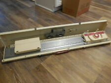 Brother Kh-230 Home Knitter Knitting Machine w/ Case with Accessories Free Ship