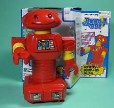ORIGINAL BEND-A-BOT ROBOT ROBOTER AUS ALTEM LAGERBESTAND OLD STORE STOCK !!!