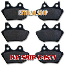 HARLEY Front + Rear Brake Pads FLHRS Road King (04-07)