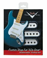 FENDER CUSTOM SHOP FAT 50'S STRAT STRATOCASTER GUITAR PICKUP SET PICK-UPS
