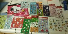 SNOOPY STICKERS OVER 750 STICKERS ALL DIFFERENT ALL NEW