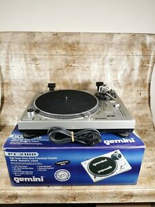 Gemini PT-2100-High Torque Direct Drive Professional Turntable Untested