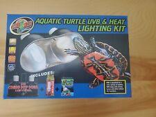 Zoo Med Pet Reptile 2 Lamp 100w Dual Dome Heat Light Base Fixture for Terrarium