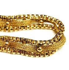 "Exclusive 14k Yellow Gold Bracelet 12 grams 7"""