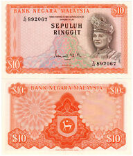 Malaysia $10 P#9 (1972) 2nd Series AUNC